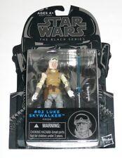 "Star Wars The Black Series Blue 3.75"" #02 Luke Skywalker Hoth 2014 Hasbro"