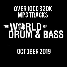 Drum & Bass October 2019 Collection: Over 1000 320K MP3 Tracks