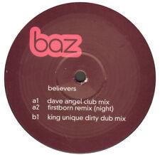 Baz – Believers - One Little Indian – 313TP12L - Uk 2001