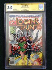 Logan's Run #1 CGC Signature Series 3.0 (Marvel Comics, 1977) Gerry Conway
