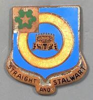 WWII Army 41st Infantry Regiment DUI DI Unit Crest PB Meyer