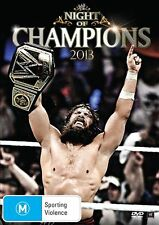 WWE - Night Of Champions 2013 (DVD, 2013) - Region 4