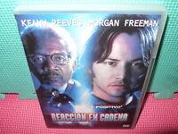 REACCION EN CADENA - KEANU REEVES - MORGAN FREEMAN - dvd