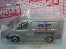 1986 MATCHBOX SUPERFAST SWISS FORD TRANSIT VAN ISOSTAR NEW MOC