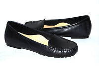 NEW COLE HAAN NIKE AIR Womens Black Leather Flats Shoes 6B