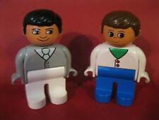 VINTAGE OLDER LEGO DUPLO DOLLHOUSE FAMILY MOM/DAD MOTHER/FATHER Doll FIGURES LOT