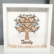 Mothers Day Handmade Personalised Scrabble Family Tree Gift Birthday Present