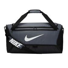 Nike Brasilia Borsa Borsone Medium Duffel Palestra Viaggio Ba5955 Grey Grigio