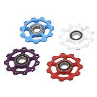 New MTB Mountain Bike Road Bicycle Rear Derailleur 11T Guide Roller Jockey Wheel