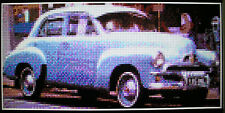 FJ HOLDEN (CLASSIC/VINTAGE CAR) ~ Counted Cross Stitch KIT #K946