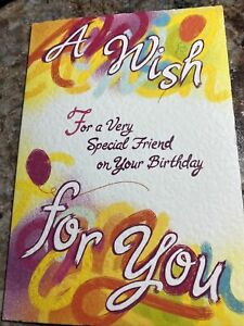 A wish 4 a very speical FRIEND on your BIRTHDAY