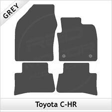 Toyota C-HR 2016 onwards Tailored Carpet Car Mats GREY