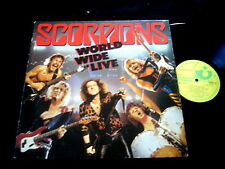 SCORPIONS/2XLP/WORLD WIDE LIVE/HARVEST FRENCH PRESS