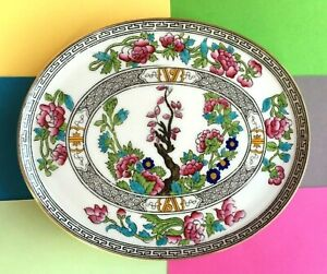 """Early Vintage Aynsley China """" Indian Tree """" Teapot Stand, Display Plate"""