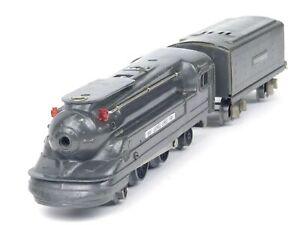 Lionel Trains 1688 Lionel Lines Gunmetal Steam Locomotive Engine With Tender