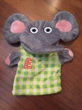 "Tiny Tillia Elephant Hand Puppet  Avon Baby Boom Consumer Products Inc 9"" Tall"