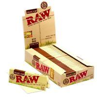 RAW Unrefined Organic 1.25 1 1/4 Size Rolling Paper Full