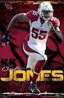 CHANDLER JONES - ARIZONA CARDINALS POSTER - 22x34 NFL FOOTBALL 16003