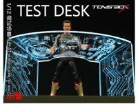 TOYS-BOX SHF 1/12 Scale Iron Man Tony 6'' Debugging Scene Workbench Accessories