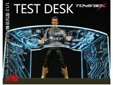 1:12 Scale TOYS-BOX SHF Iron Man Tony 6'' Debugging Scene Workbench Accessories