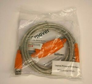 Laplink PC Mover Essentials CD Disc and Transfer Cable Factory Sealed Bag
