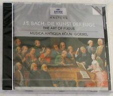BACH J. S. - DIE KUNST DER FUGE - GOEBEL - CD Archiv Sigillato