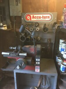 Accuturn Combination Brake Lathe Machine Model# 7700 Used New York