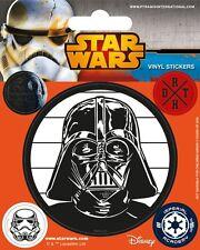 Vinyl Sticker / Aufkleber-Set STAR WARS - Darth Vader 1x groß 4x klein NEU 7226