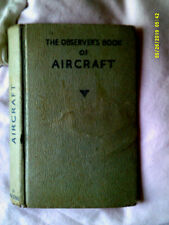 Observers Book of Aircraft 1961 Edition