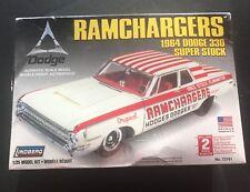 Lindberg Ramchargers 1964 Dodge 330 Super Stock 1/25 Model Kit 72161 NIP