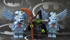 Lego Mini Figure The Batman Movie Wicked Witch Flying Monkeys from Set 70917