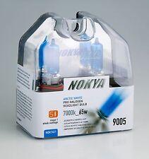 Nokya Headlights 9005 7000k 65WATT ARCTIC WHITE NOK7411 Stage 1 NEW