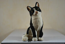 Katze mini sitzend Gartenfigur Dekoration Standfigur Tierfigur Figur