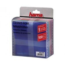 HAMA BUSTINE CD/DVD con Aletta in 5 colori, confezione 100 pz - H51068