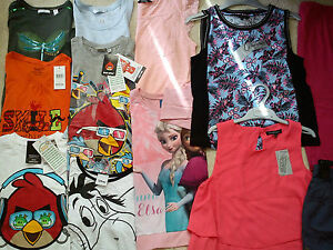 AMAZING FC NEW LOOK NEW BUNDLE OUTFITS GIRL CLOTHES 10/11Y 11/12 YRS(3.5)NR130