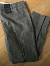 New M&S Collection Luxury straight Leg Trousers Size 18 Short