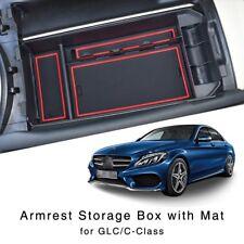 Neu Armlehne Aufbewahrungsbox für Benz GLC C-Klasse 2015-2017 Mittelkonsole Tray