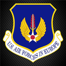 US Air Forces In Europe Patch Insignia Vinyl Graphics Decal Sticker Car Window