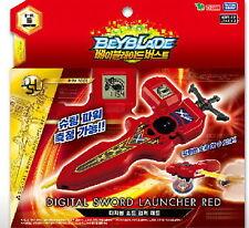 BEYBLADE BURST B-94 DIGITAL SWORD LAUNCHER RED RIGHT & LEFT /Takara Genuine Toy