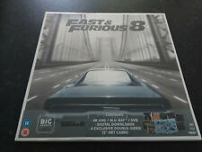 Fast & Furious 8 Big Sleeve Edition 4K UHD Blu-Ray BRAND NEW & SEALED