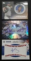 Autograph Lot Dustin May RC/auto Clayton Kershaw, Julio Urias Bowman Dodgers