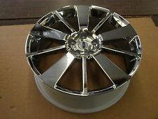 NOS OEM Ford Accessory Lincoln MKX Edge Wheel Chrome 2007 2008 2009 2010 2011