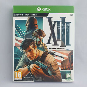 Xbox One / Series X - XIII Limited Edition NEW SEALED Steelbook