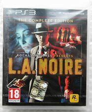 LA NOIRE THE COMPLETE EDITION PS3 PLAYSTATION 3 ENG NUOVO