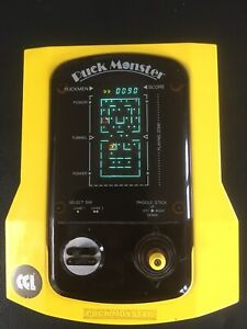 Vintage Retro 1980's Puck Monster CGL Lindy electronic handheld game (PacMan)