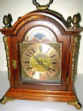 OLD DUTCH MANTLE BRACKET anniversary CLOCK WUBA WARMINK MOONDIAL engraved moveme