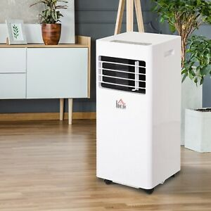 Mobile Air Conditioner W/ Remote Control Cooling Sleeping Mode White