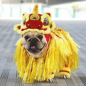Dog Cat Festival Party Clothes - Halloween Lion Shaped Cosplay Transfiguration