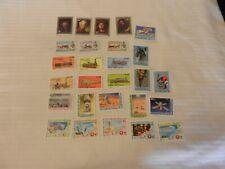Lot of 31 Mauritania Stamps, Art, Trains, Viking Mars Mission, Olympics, Soyuz