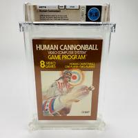 Human Cannonball - Atari 2600 Brown Box 1978 9.4 Cart Complete WATA 9.0 CIB